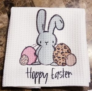NWT easter kitchen towel